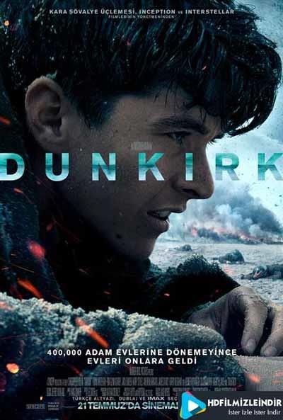 Dunkirk (2017) İzle İndir Türkçe Dublaj Full HD