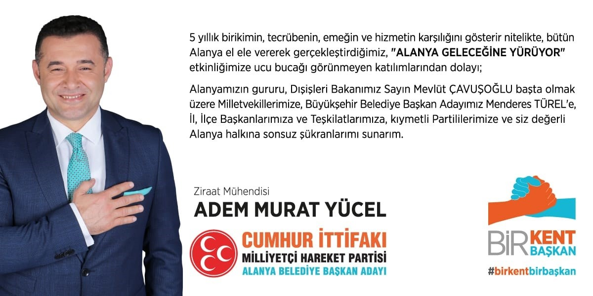 Adem Murat Yucel Yeni Reklam Popup