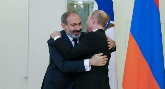 Vladimir Putinlə Nikol Paşinyan arasında görüş keçirildi