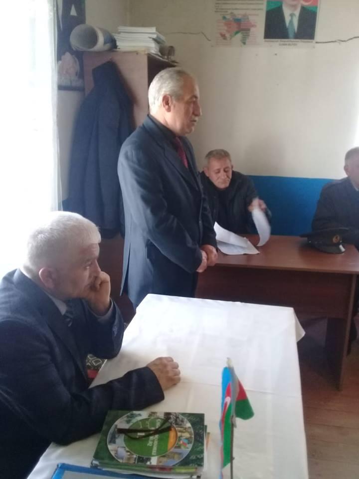 AVMVİB Tovuz rayon şöbəsi tədbir keçirdi