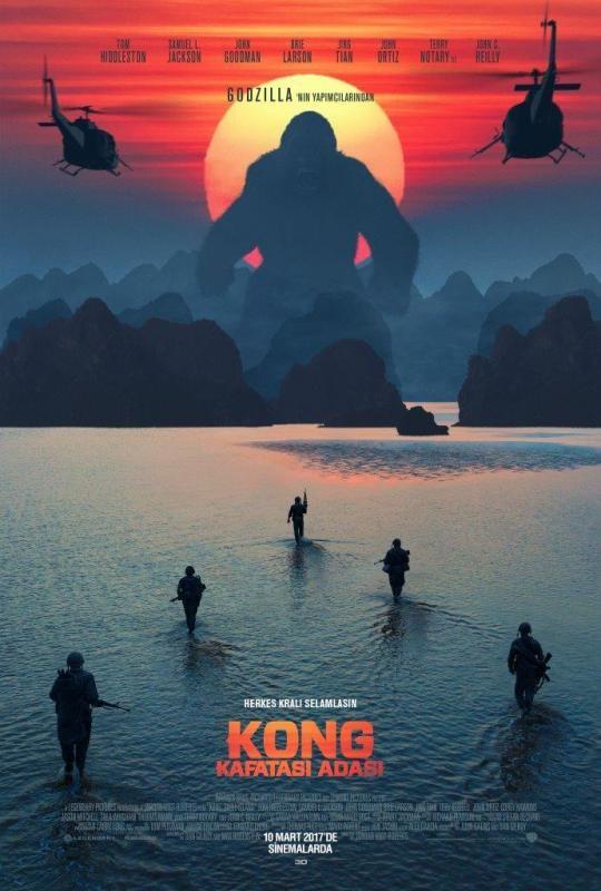 Kong: Kafatası Adası (2017) Türkçe Dublaj Seçenekli Film indir