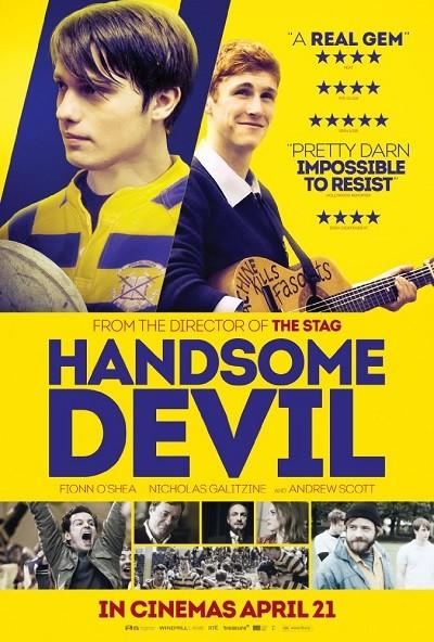 Şeytan Tüyü -  Handsome Devil (2017)  m1080p WEB-DL x264 Türkçe Dublaj - Tek Link