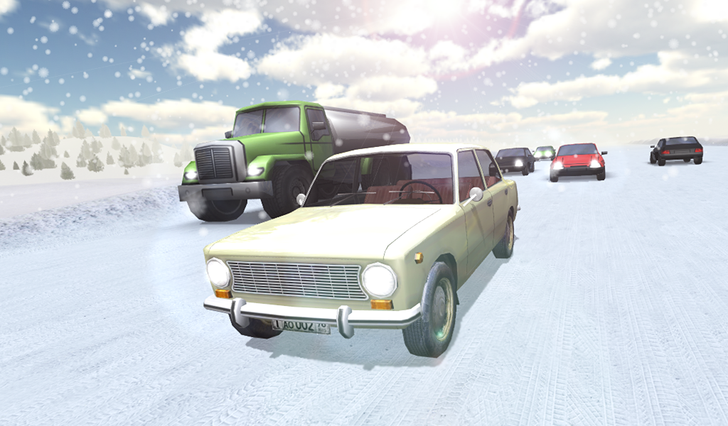Russian Traffic Racer Android