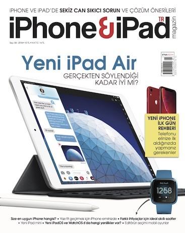 iPhone & iPad Magazin Temmuz 2019 Pdf E-kitap indir E-Dergi indir