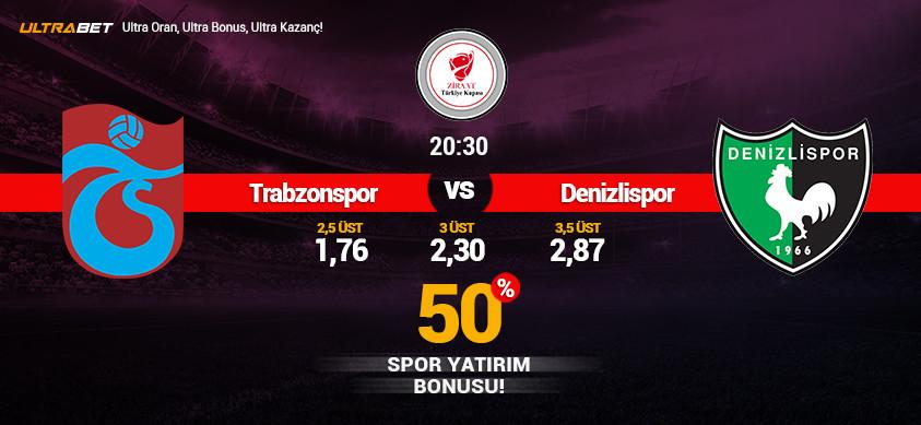 Trabzonspor - Denizlispor Canlı Maç İzle