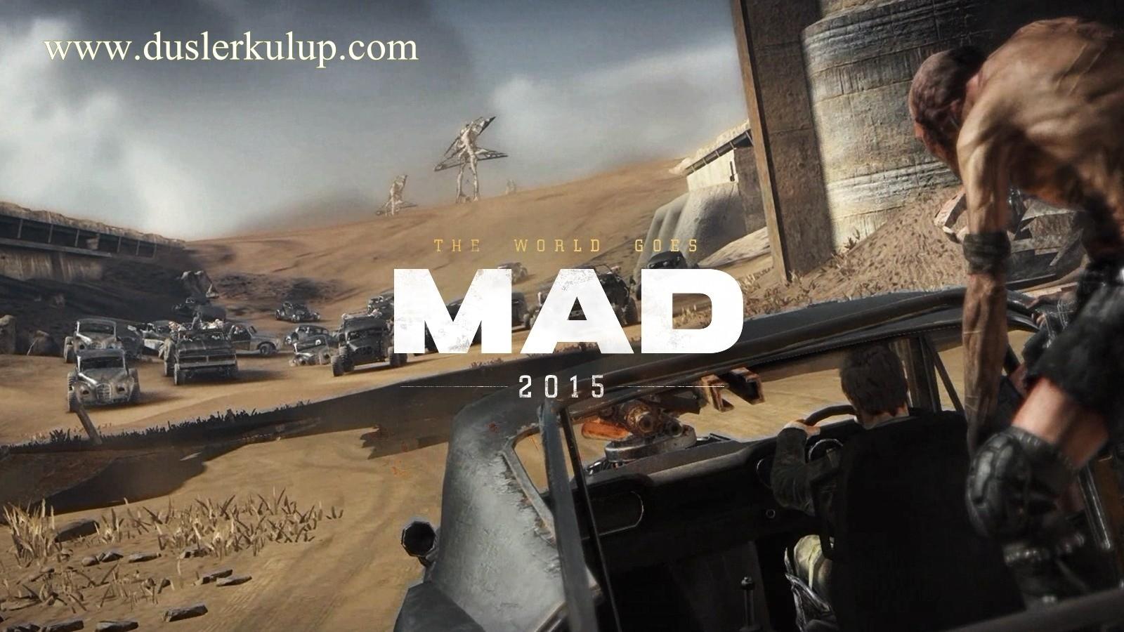 Mad Max Filminin Bilgisayar Oyununu Full İndir