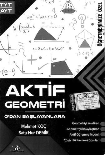 Aktif Geometri Sıfırdan Başlayanlara Pdf E-kitap indir