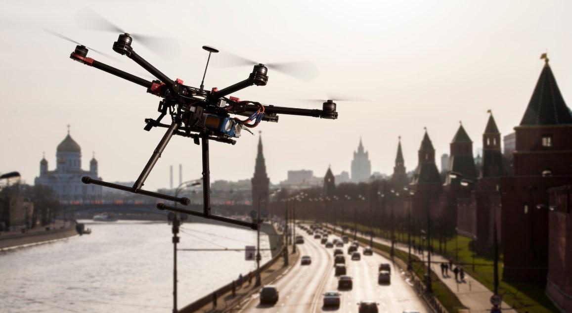 DRONE İLE UŞAK'TA TRAFİK DENETİMİ