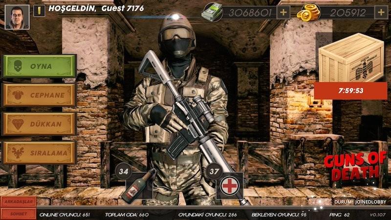 Bu yıla damgasını vuracak multiplayer oyun - Guns Of Death MDPzVQ