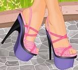 Topuklu Ayakkabı Tasarlama Oyunu