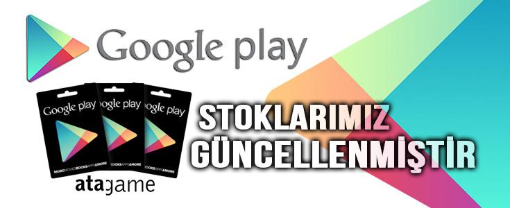 Atagame Google Play Stoklari Güncellendi