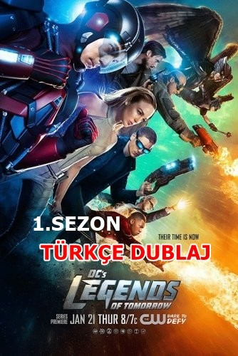 DCs Legends of Tomorrow 1.Sezon HDTV x264 Türkçe Dublaj Güncel – Tek Link