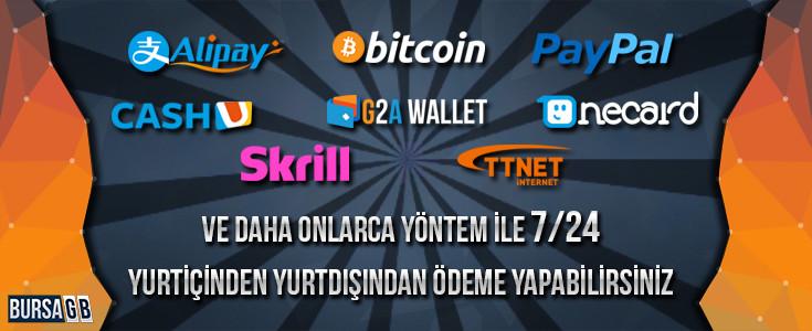 G2A Pay Ödeme Sistemi BursaGB de
