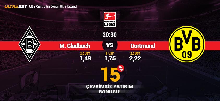 M.Gladhbach - B. Dortmund Canlı Maç İzle