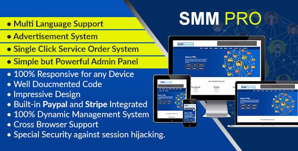 SMM Pro - Takipçi Satış Scripti