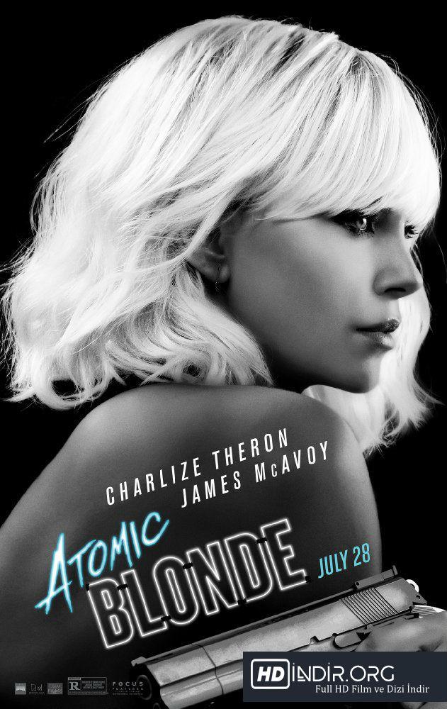 Sarışın Bomba - Atomic Blonde (2017) Türkçe Dublaj HD film indir