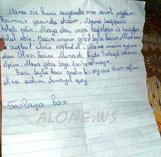 12 yaşlı İsmayılın son sözləri ürək dağladı: - FOTO