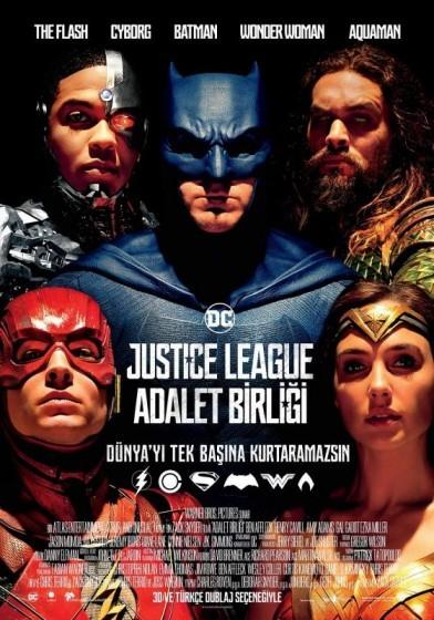 Justice League: Adalet Birliği 2017 (TS HDCAM x264) Türkçe Dublaj indir