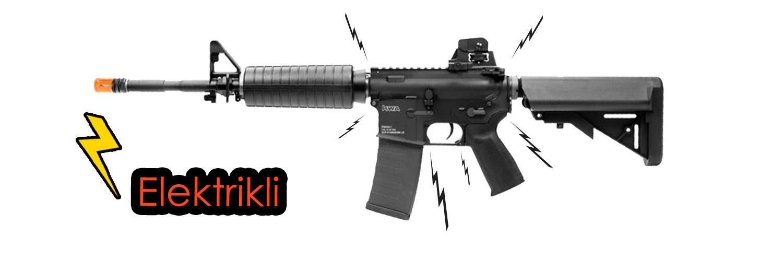 elektrikli airsoft oyuncak silah