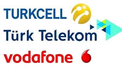 Turktelekom, Turkcell, Vodafone TL Gönderme, İsteme