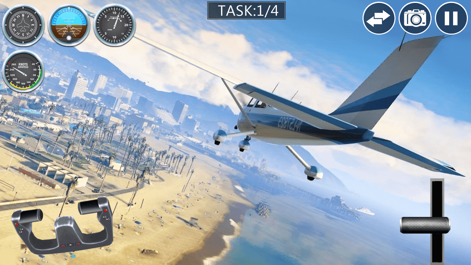 Airplane: Real Flight Simulator Apk