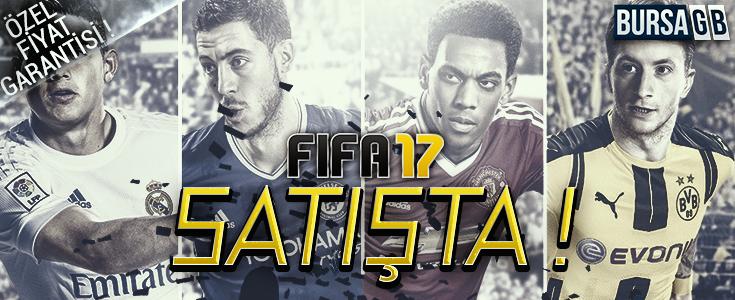 Futbol Şimdi Başlıyor ! Fifa 17 Cazip Fiyat Avantajı ile BursaGB'de