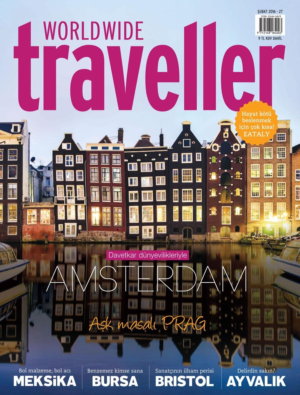 WorldWide Traveller Şubat 2016 PDF Dergi İndir