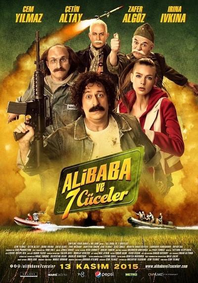 Ali Baba ve 7 Cüceler 2015 ( DVDRip XviD v2-Yerli Film) -Tek Link (MeSeY)