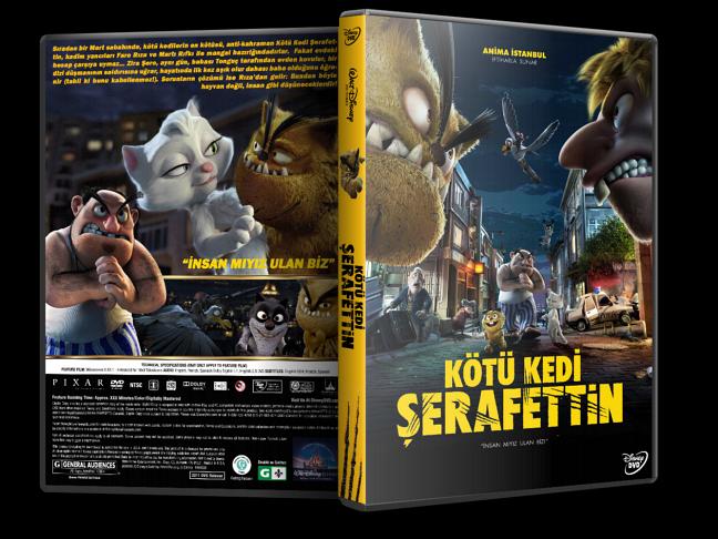 Kötü Kedi Şerafettin Yerli Film (2016) Sansürsüz Orjinal DVD - 5 Untouched Tek Link