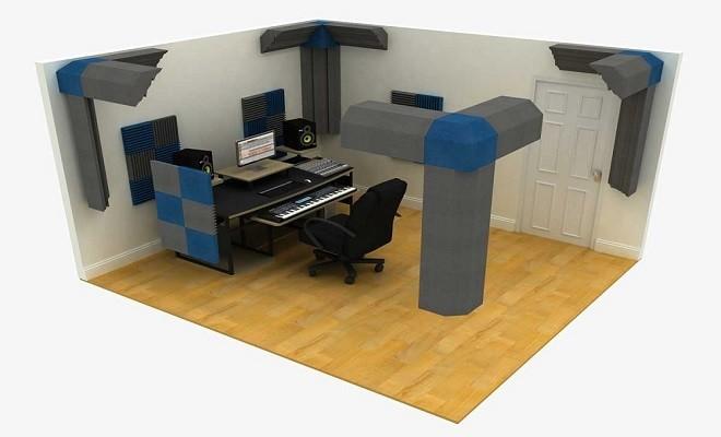 ses yalıtımlı oda