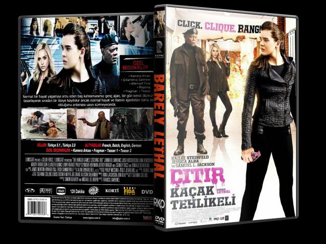 Çıtır Kaçak Tehlikeli – Barely Lethal 2015 DVD-5 DuaL TR-EN – Tek Link
