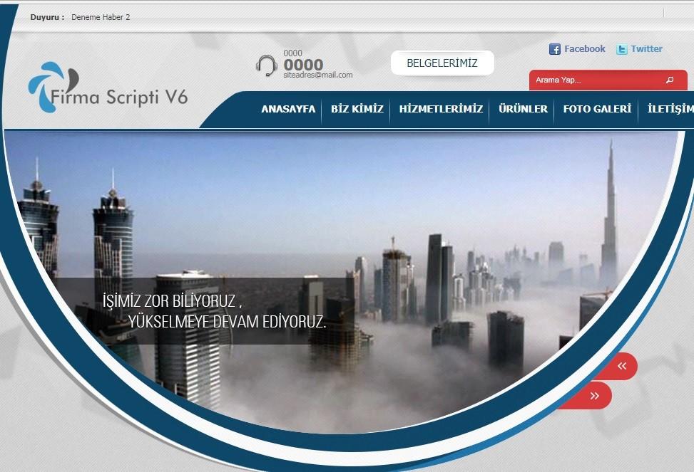 Hazır Web Sitesi V5