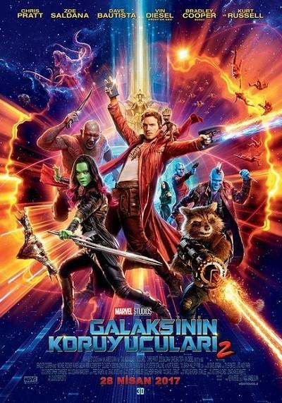 Galaksinin Koruyucuları 2 (2017) m1080p BluRay x264 Türkçe Dublaj İndir