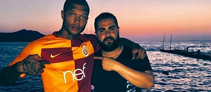 Jeremy Meeks'ten Galatasaray paylaşımı!