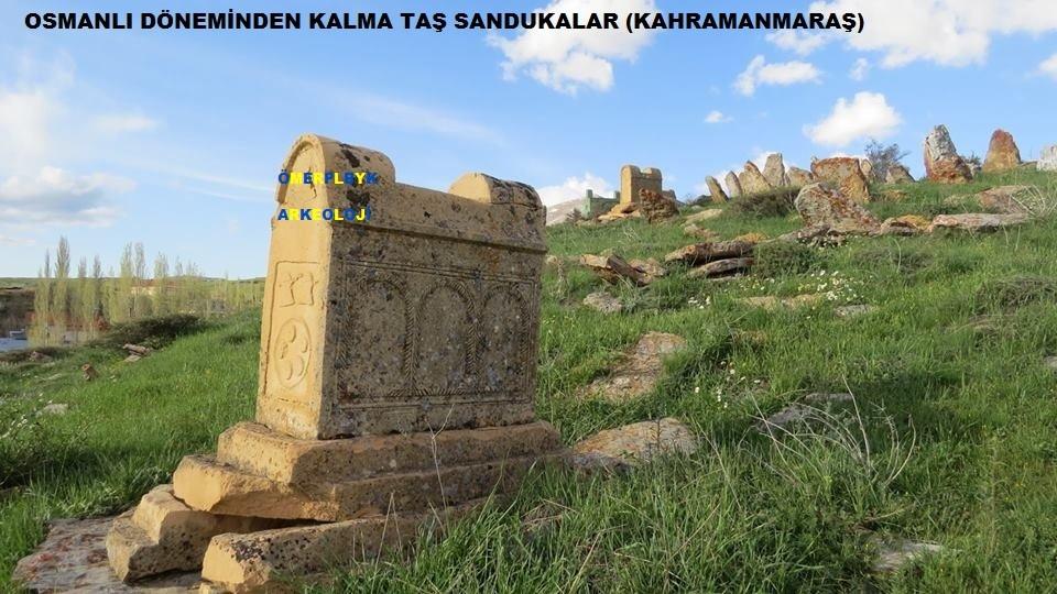 Osmanlı döneminden kalma sandukalar Kahramanmaraş