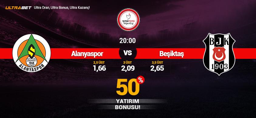Alanyaspor - Beşiktaş Canlı Maç İzle