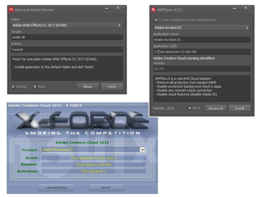 Adobe Ürün Aktivatörleri | Portable