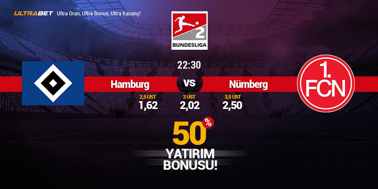 HSV - Nürnberg Canlı Maç İzle