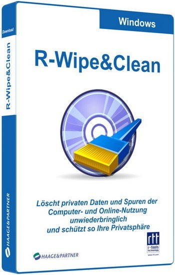 R-Wipe & Clean 11.9 Build 2186 Corporate Full İndir