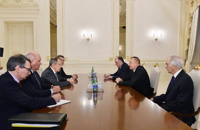 Rusiyanın xarici işlər naziri Sergey Lavrov Bakıya səfərə gəlib
