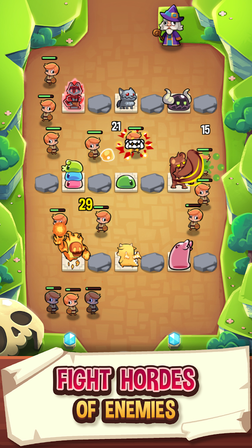 Summoners Greed - Idle TD Apk