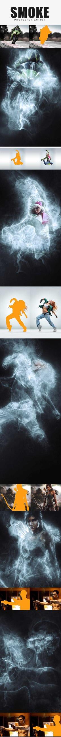 Smoke Photoshop Action-Photoshop Atn