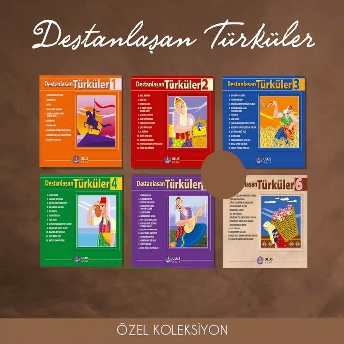 Çeşitli Sanatçılar Destanlaşan Türküler Full Seri Albüm indir