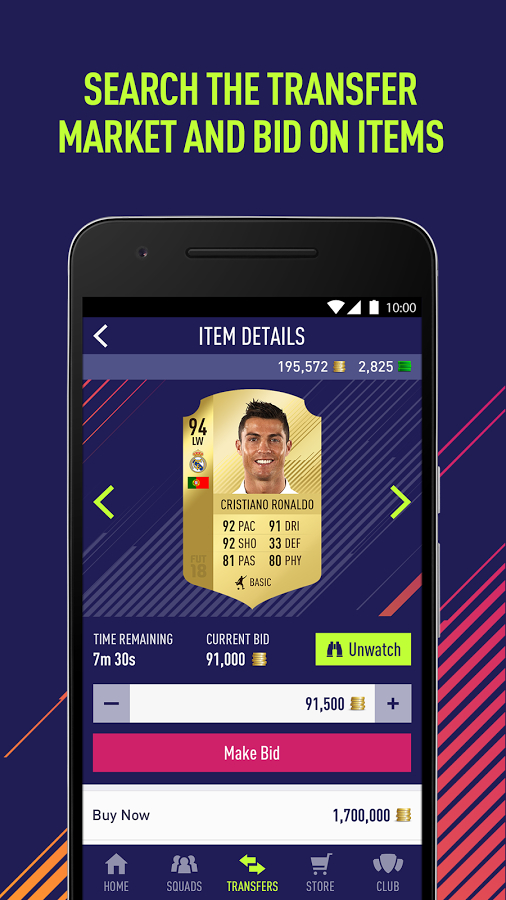 EA SPORTS™ FIFA 18 Companion Android Oyun