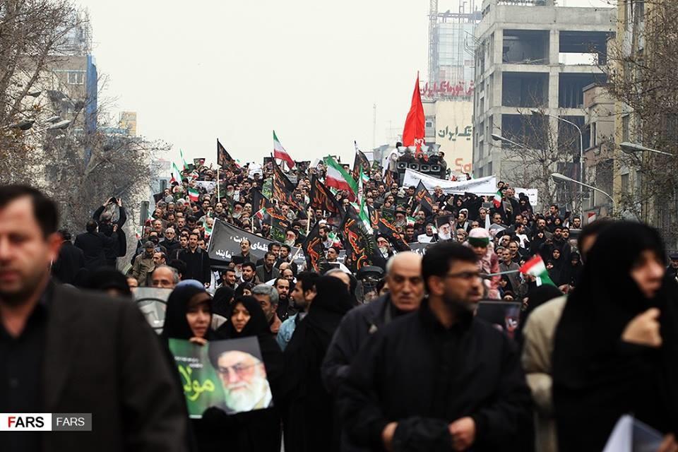İran: Rejim əleyhinə etirazlar sona yetdi