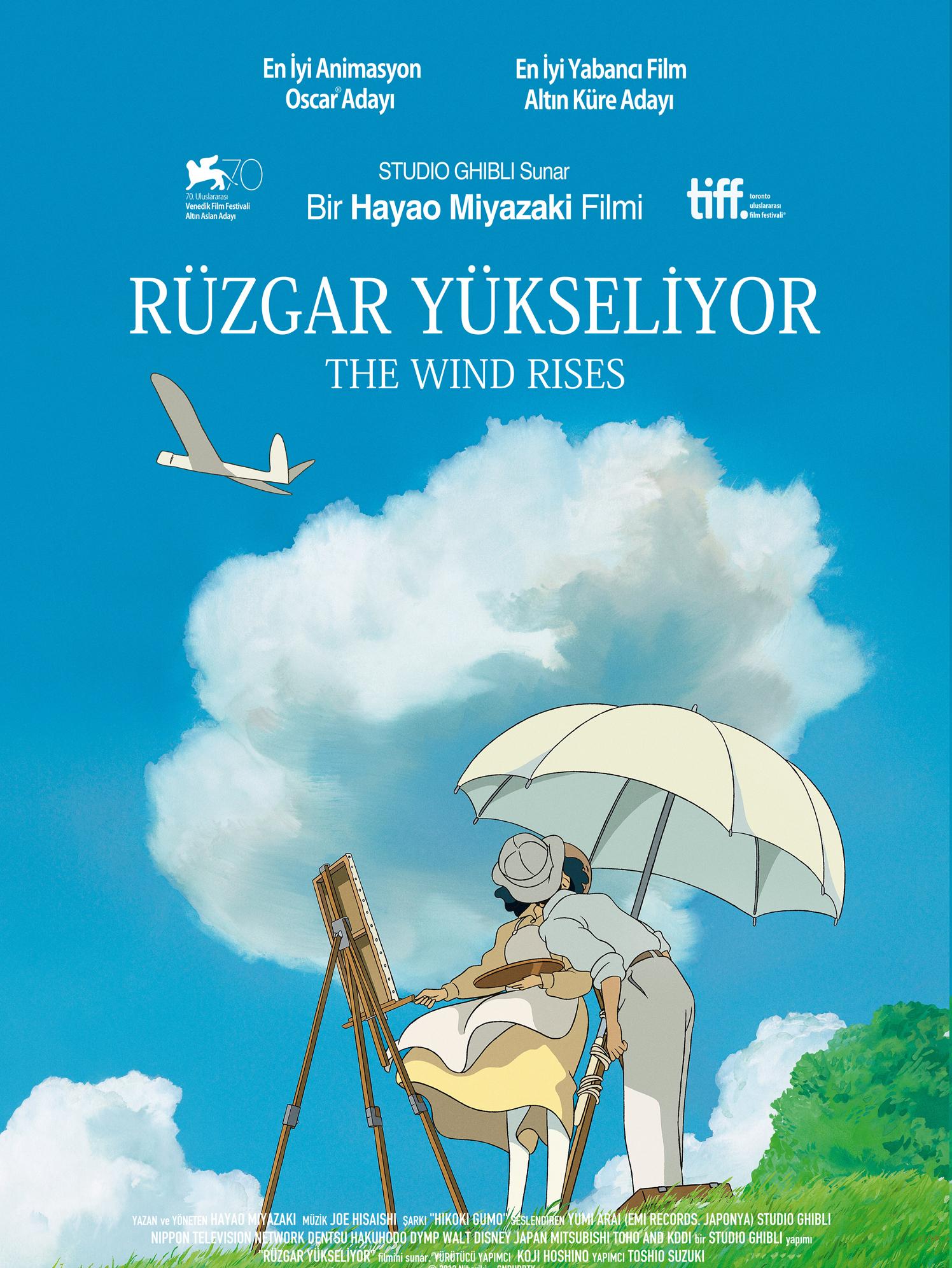 Kaze Tachinu / Rüzgâr Yükseliyor / 2013 / Japonya / Animasyon / Mp4 / TR Altyazılı