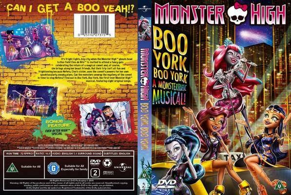 Monster High Boo York, Boo York 2015 (DVD-9) DuaL TR-ENG – indir