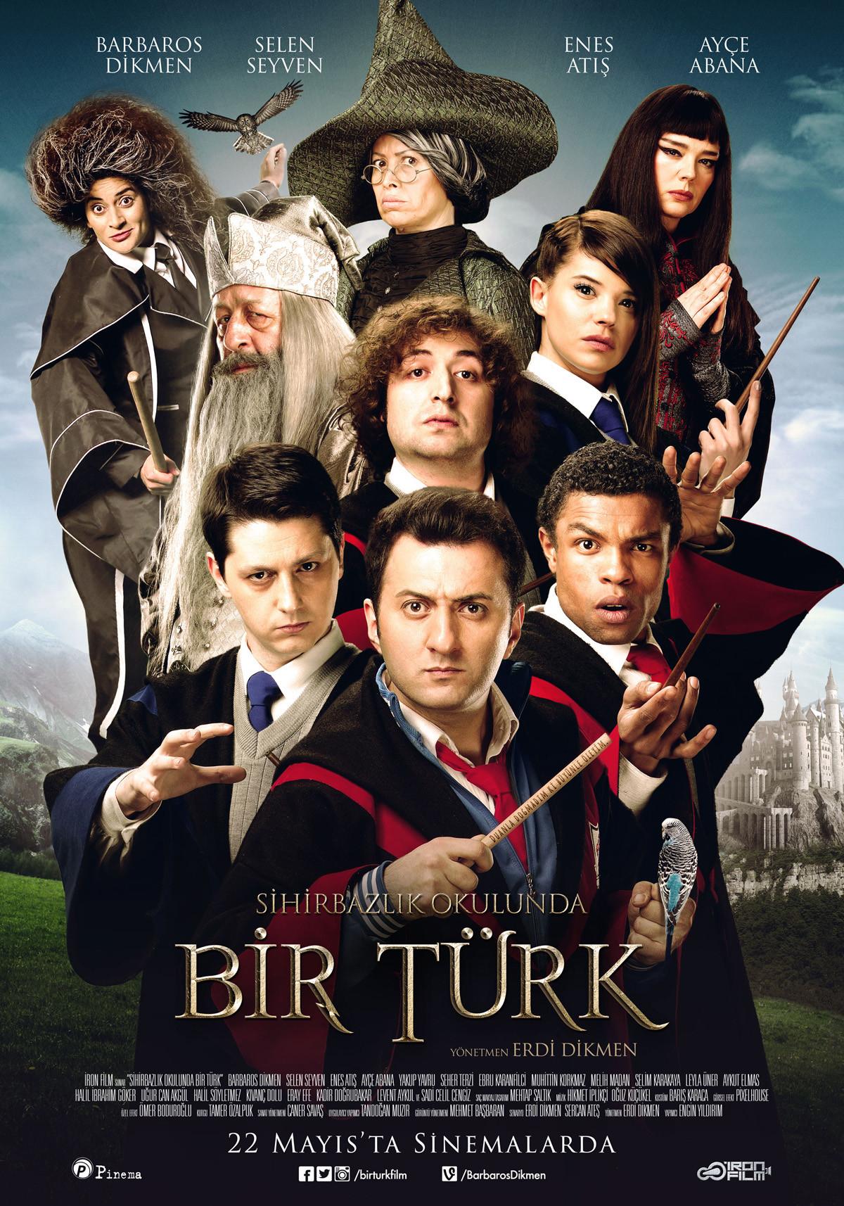 Sihirbazlık Okulunda Bir Türk Yerli Filmi izle – Tek Parça
