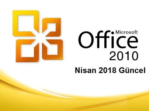 Microsoft Office 2010 Professional Plus SP2 VL  32 - 64 Bit (Nisan 2018) | Katılımsız