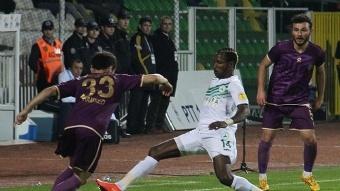 Giresun'da Osmanl�spor kazand� 1 - 2